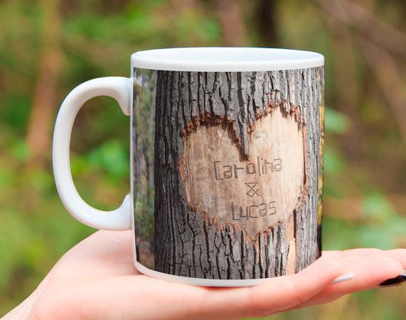 Kissen mit foto personalisiertes kissen for Baumstamm kissen