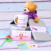 kit de regalos para madres con nombre