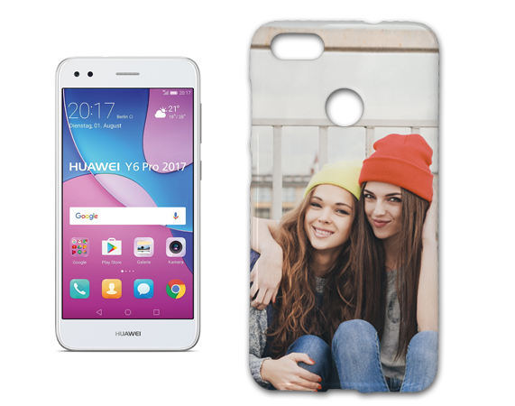 Cover in gel personalizzato per Huawei Y6 PRO 2017.