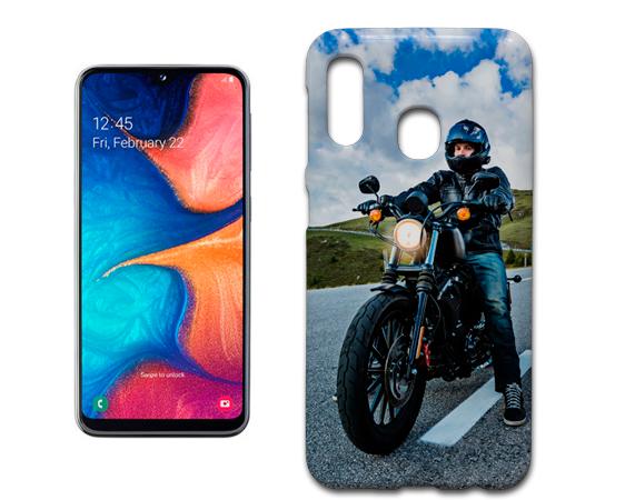 Coque en silicone personnalisée pour Samsung Galaxy A20E