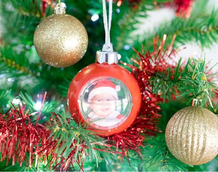 Bolas con nieve para el rbol de navidad - Bola nieve navidad ...