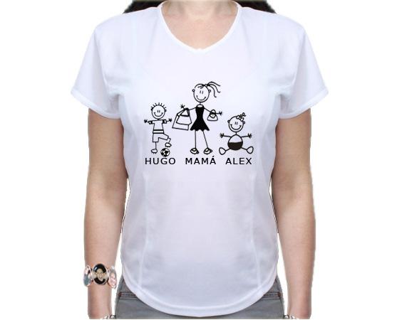 Camiseta personalizada para Mamá 553de3838cf60
