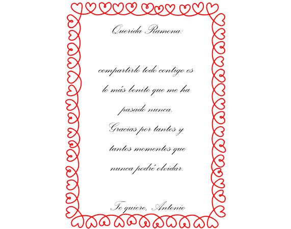 Osito De Peluche Con Una Carta De Amor Personalizada