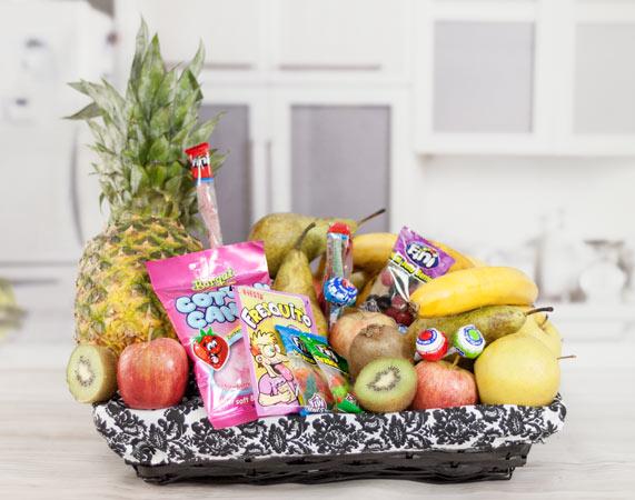 Cesta De Fruta Chuches