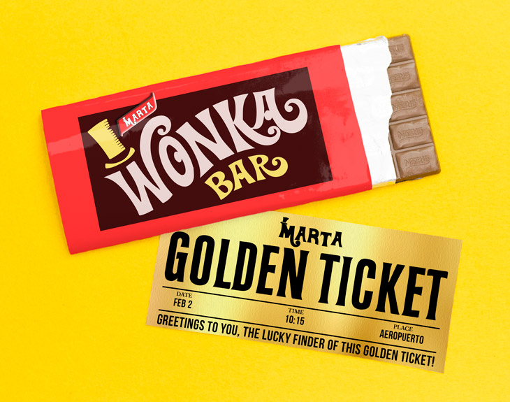 Willy Wonkas Chocolate Bar