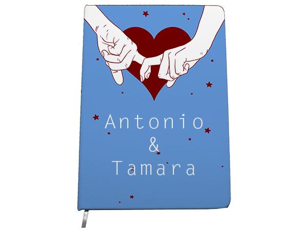 Cuaderno Dedos De Amor