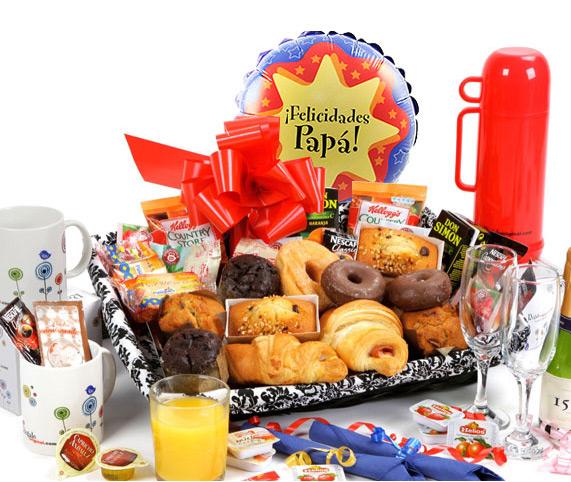 Regalos para padres - Regalar desayuno a domicilio madrid ...