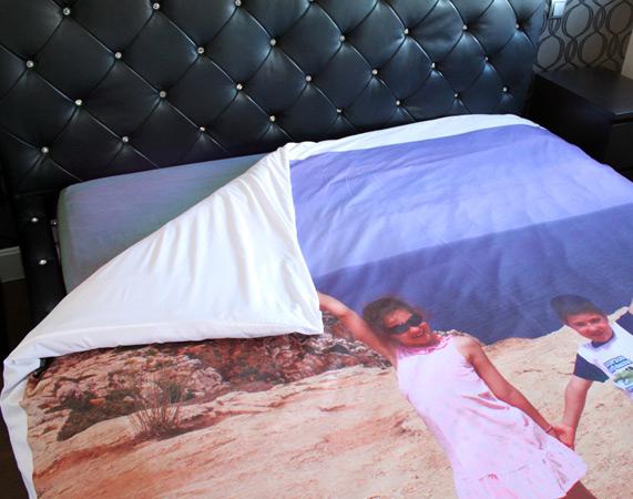housse de couette personnalis e. Black Bedroom Furniture Sets. Home Design Ideas