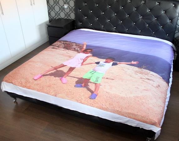 Manta para cama personaliza con foto - Mantas con fotos ...