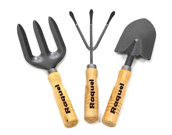 Set de herramientas para jardiner a personalizadas for Herramientas para jardineria