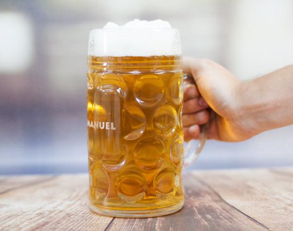 Jarra de cerveza gigante for Jarras para cerveza