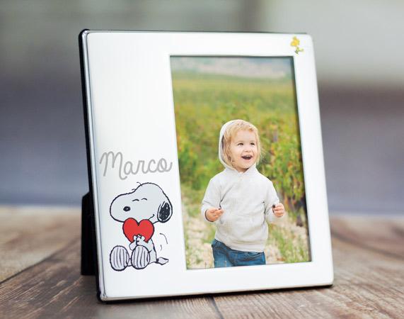 Marco de fotos Snoopy personalizado