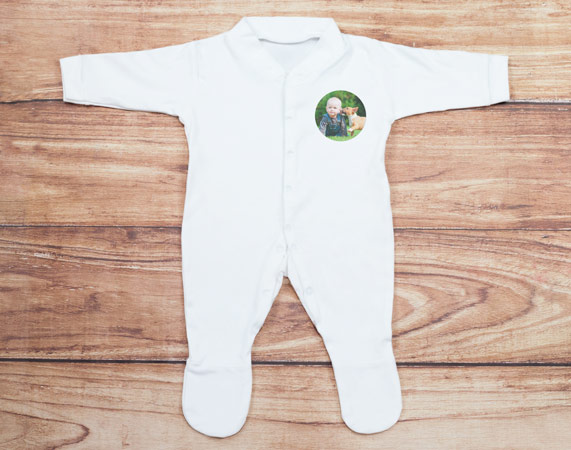 b788b2047 Pijama para bebé con foto - Regalo Original