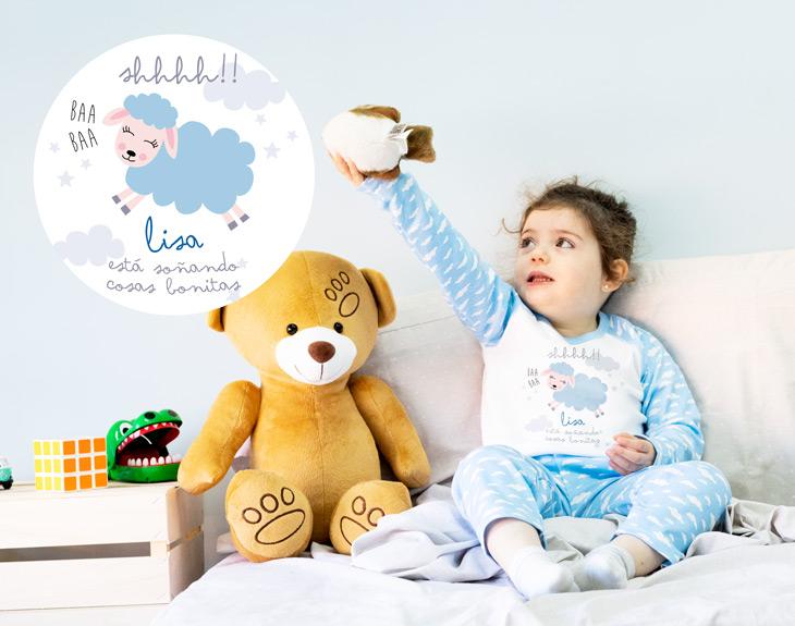 a9a50ab765 Pijama infantil personalizado