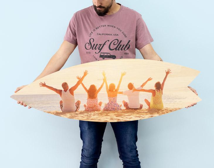 Tavola Da Surf In Legno Personalizzata
