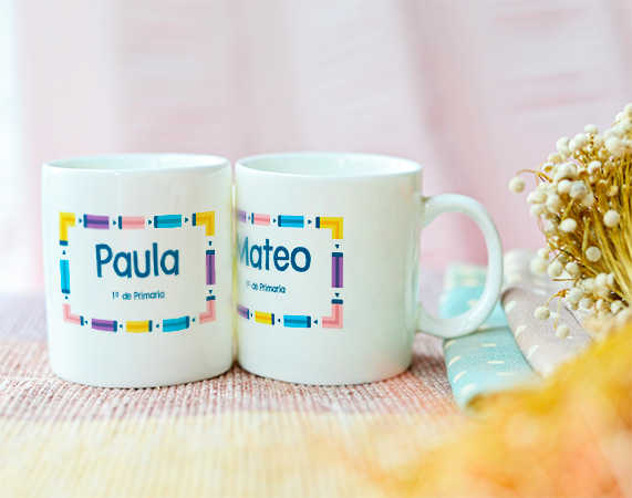 Taza de pl stico personalizada regalo original for Tazas grandes